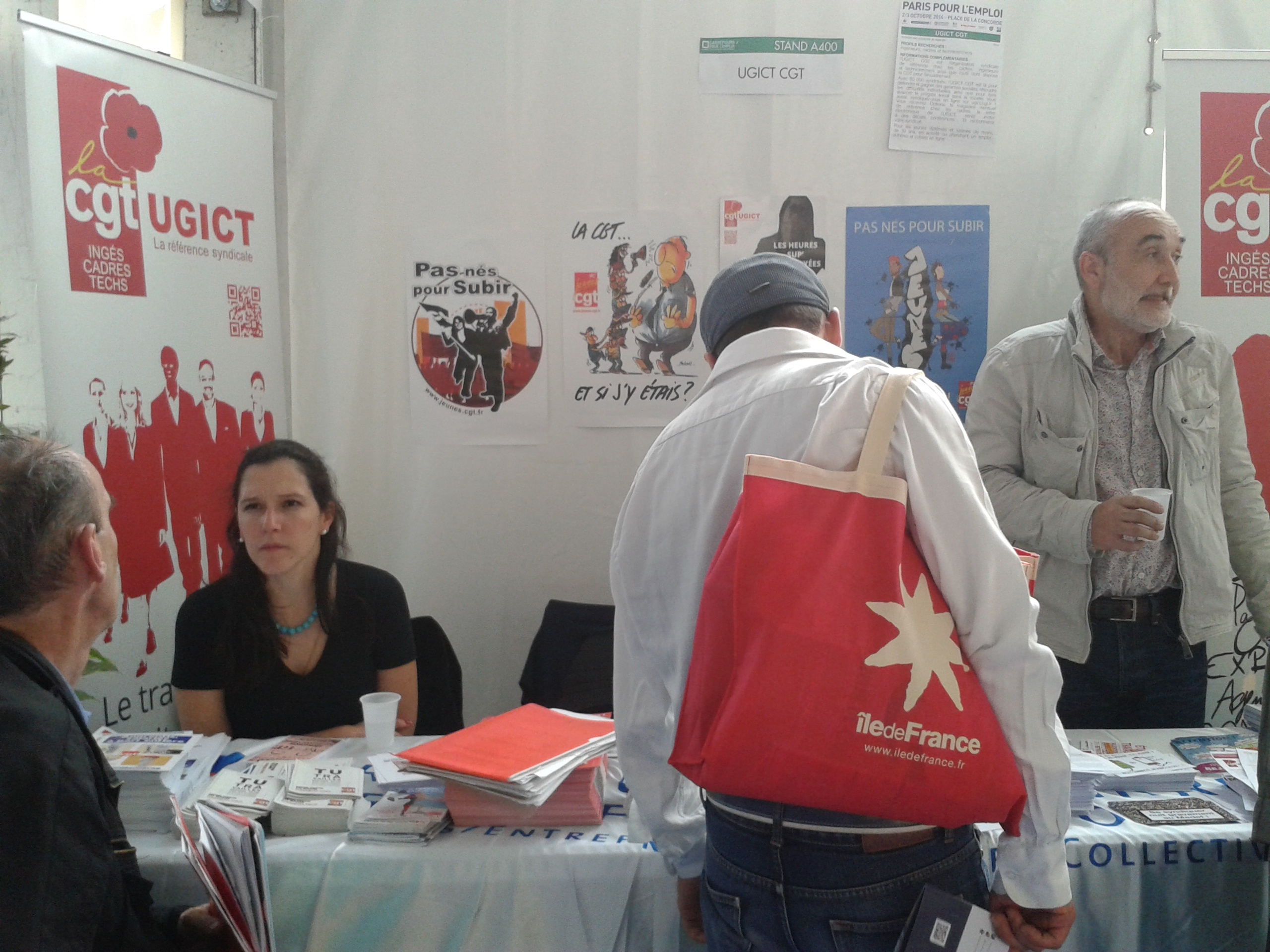 salon emploi oct2014 ugict cgt paris
